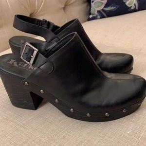Kork-ease clogs heeled